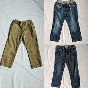 Toddler boys pants bundle size 4T